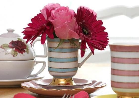 Criativos e modernos, esses vasos dão um charme a mais à mesa
