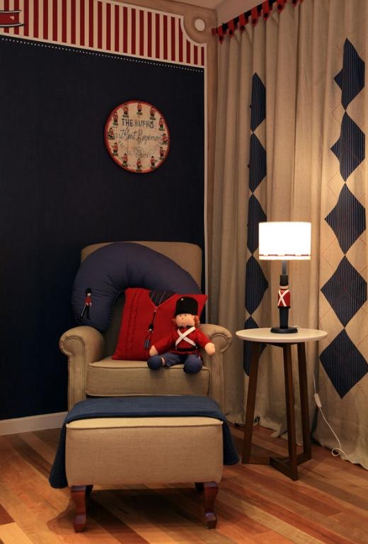 azul casa da idea ~ Quarto Masculino Londres