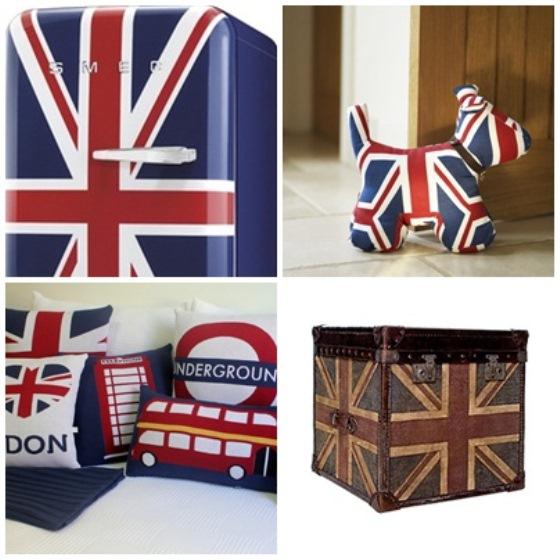 Union Jack inspira decoração nas Olimpíadas 2012