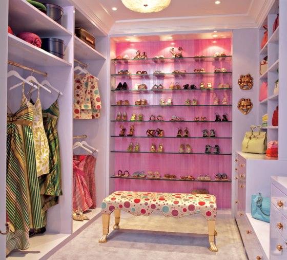 closet rosa