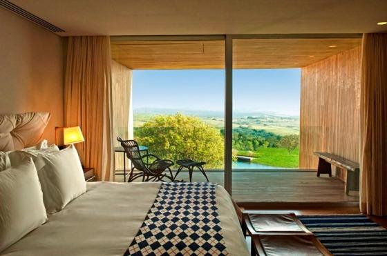 Hotel do arquiteto Isay Weinfeld em Porto Feliz