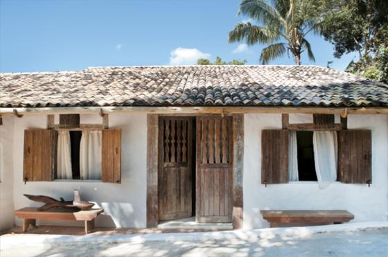 Casa de praia charmosa e simples em Trancoso