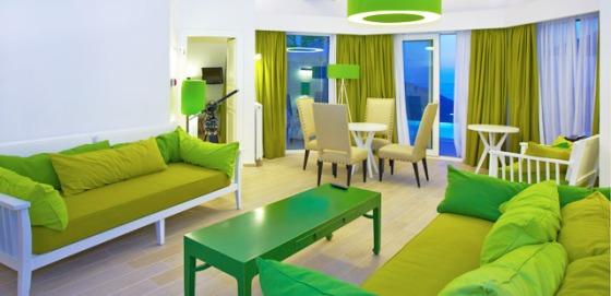 sofa verde