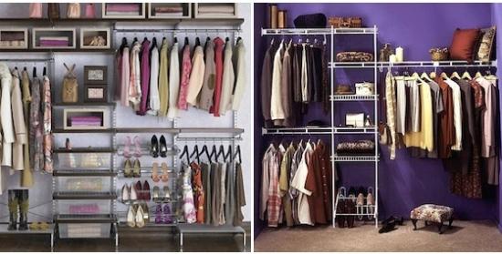 caixas podem substituir gaveteiros em closets