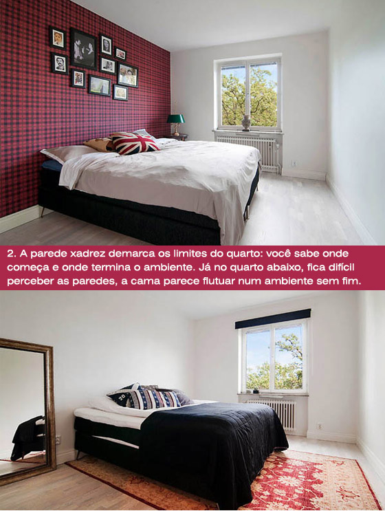 pintar parede atrás da cama